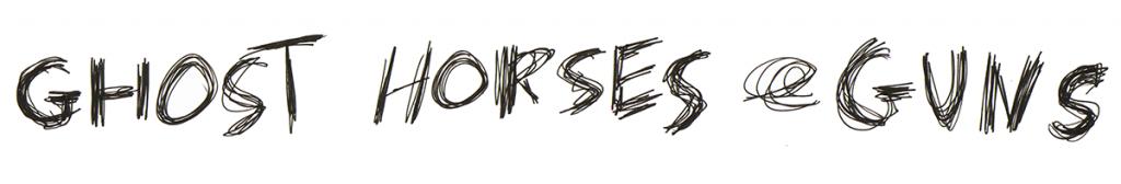 Melanie Tomlinson Ghost Horses and Guns Logo